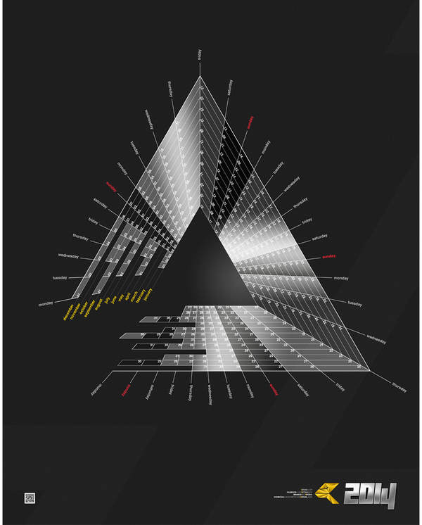 calendario triangular 2014