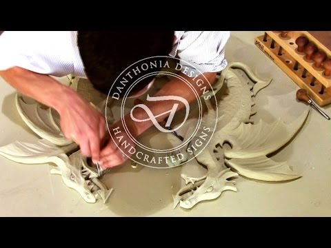 Danthonia Designs: Making a Handcrafted Sign