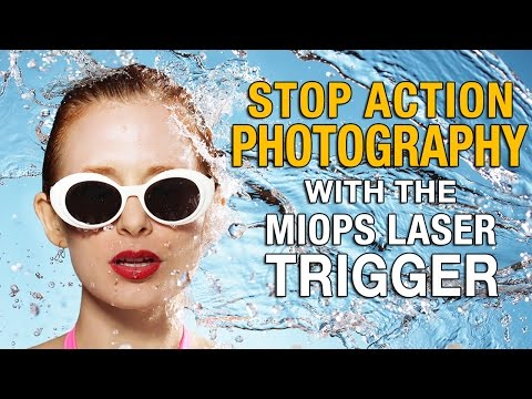 Stop Action Photography with the MIOPS Laser Trigger