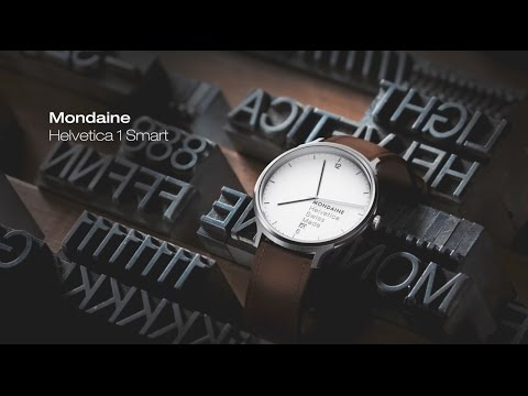 The Elegance and Heritage of the Mondaine Helvetica Watch