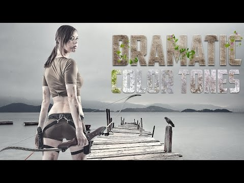 ★ Dramatic Cinematic Effects in Photoshop CS6