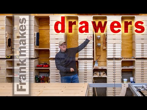 Drawers for Small Parts