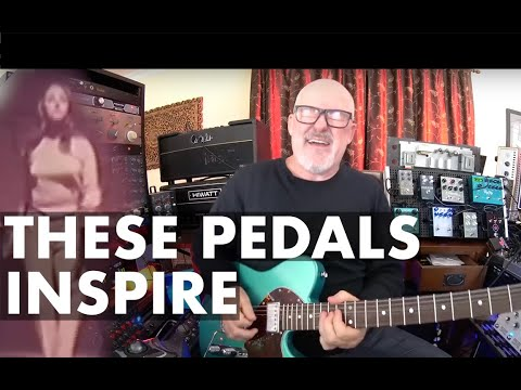 8 Pedals that INSPIRE! from the World's Largest Pedalboard | Sweetwater | Tim Pierce