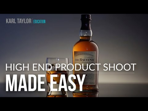 Karl Taylor's High-End Product Shoot - Made Easy!