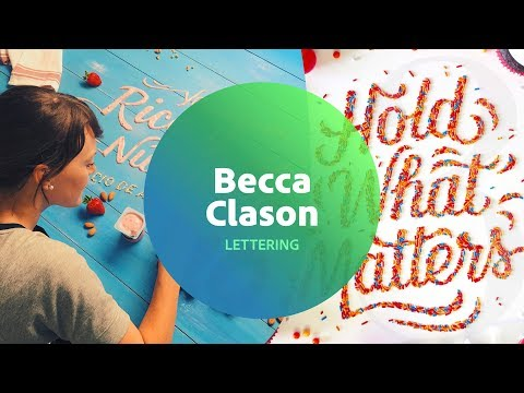 Live Lettering with Becca Clason 3 of 3