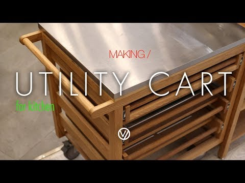 W60_Utility cart for kitchen