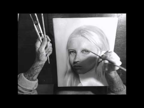 Time-lapse portrait painting with Kit King