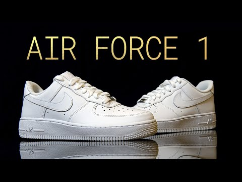 What's Inside NIKE Air Force 1 - (CUT IN HALF) - Thicc Midsole & Giveaway