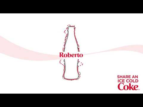 Share an Ice Cold Coke with Roberto