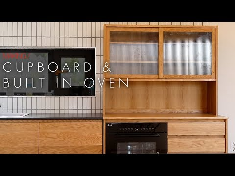 W77_Cupboard and built in oven drawer