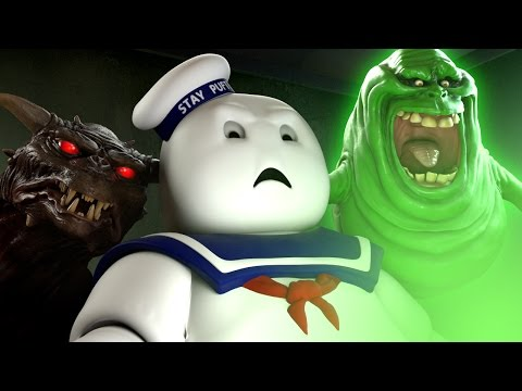 Marshmallow Man Reacts to GHOSTBUSTERS Trailer