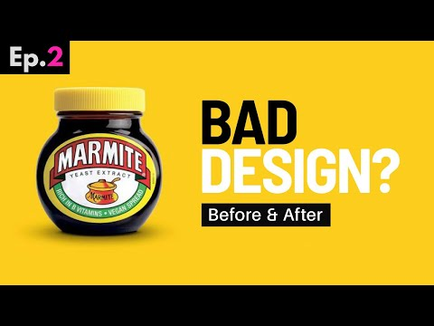 Making FAMOUS Graphic Designs Better!! (Before & After Design)