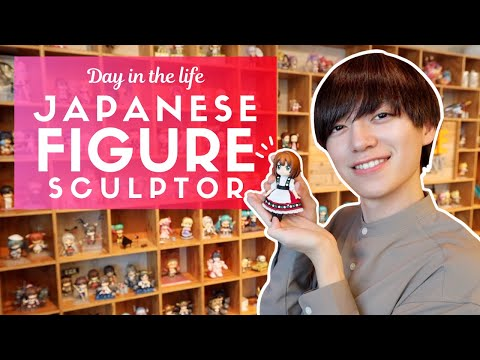 Day in the Life of a Japanese Anime Figure Sculptor