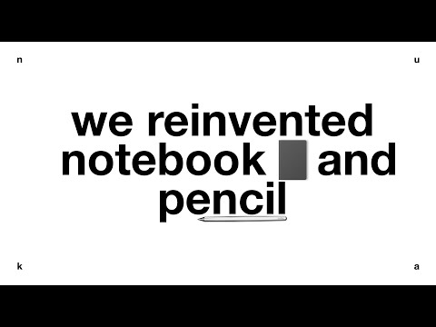 Eternal notebook and pencil    nuka