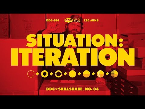 Illustration with Draplin: Iterating with Shape, Style, and Color | Trailer
