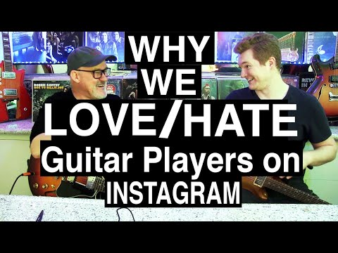 Why We Love/Hate Guitarists on Instagram | A Survival Guide | Tim Pierce | Aidan Scrivens |