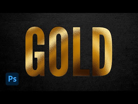 How to Create a Gold Foil Effect in Photoshop