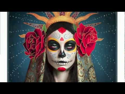 Día De Los Muertos - The Making Of The Sugar Skull Image - Retouching & Painting in Adobe Photoshop
