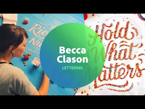 Live Lettering with Becca Clason 2 of 3