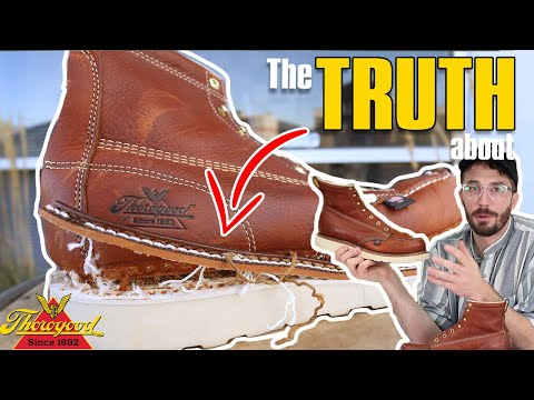 Why Do Thorogood Boots Have a Fake Stitch?