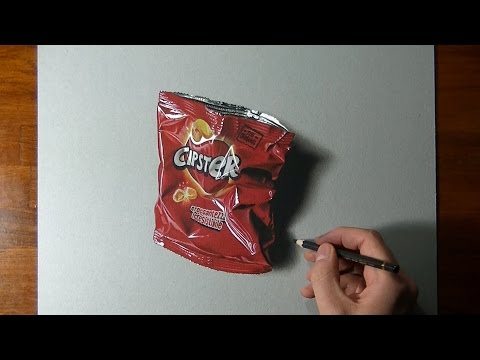 You'd like to see if there are any chips left... but it's a DRAWING 😂