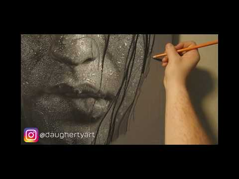 """Hyperrealistic Portrait Drawing 