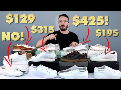 (13 Sneaker Showdown) - THE BEST WHITE SNEAKER and one to NEVER BUY