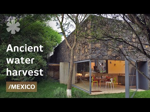 Modern home in Mexican plateau revives ancient water harvest