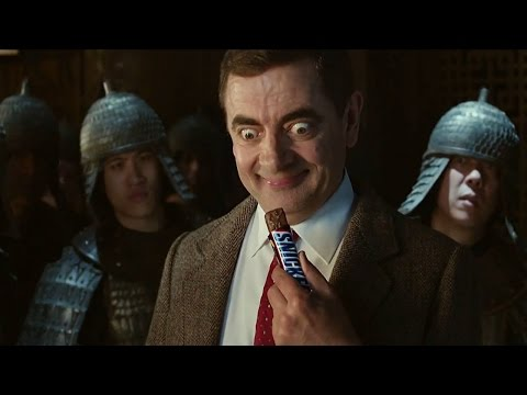 Snickers Mr Bean TV advert - Subtitled