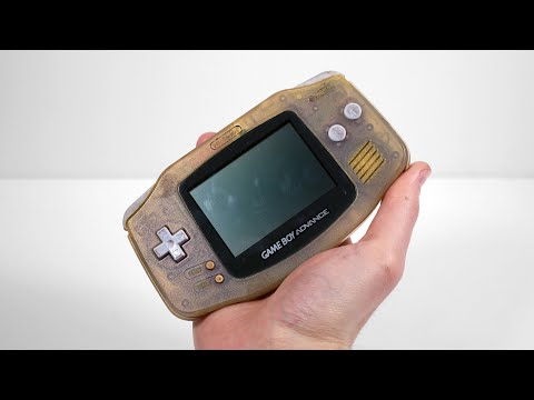 I Restored This $5 Ebay Junk Gameboy Advance. It Used to be Blue – Retro Console Repair