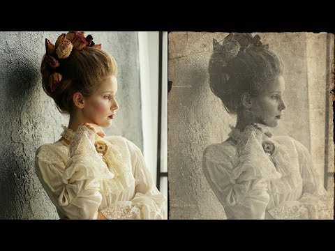 How to Create Vintage Old Photo Effect in Photoshop - Retro Look Photo Edit - Photoshopdesire.com