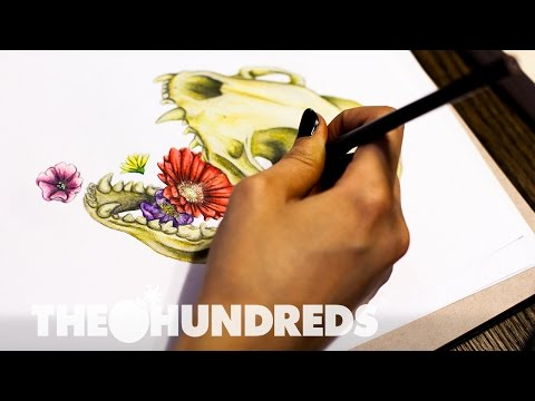 """BEHIND THE SHIRT :: """"FLORAL PUKE"""" W/ AMY FRY :: THE HUNDREDS"""