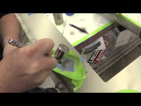 Airbrushing Tutorial - Bullet Holes with Mike Lavallee