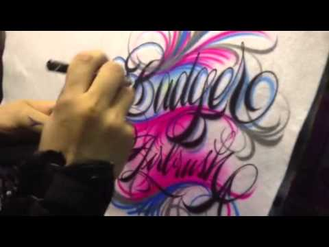 Spectra tex colors and script lettering by Jaime Rodriguez