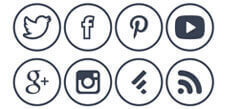 botones sociales 2017