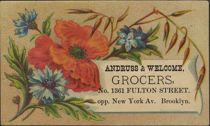 tarjetas de negocios vintage