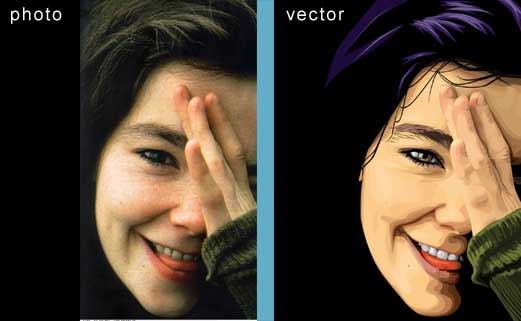 vectorizar una foto en Photoshop