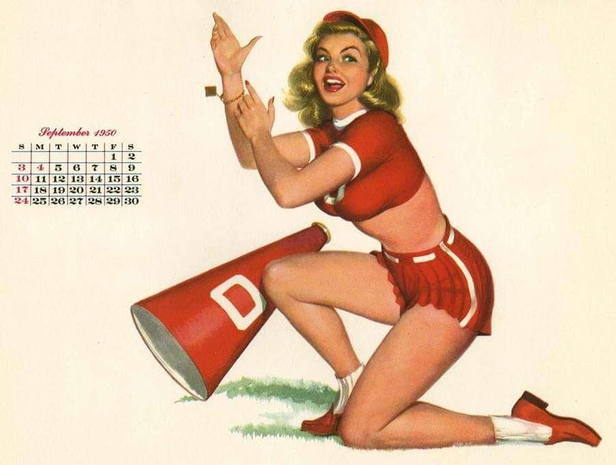 Chicas de calendario
