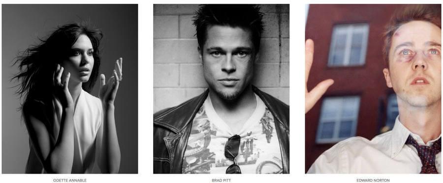 Fotografías de famosos