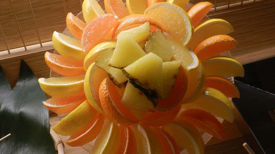 Flor de frutas