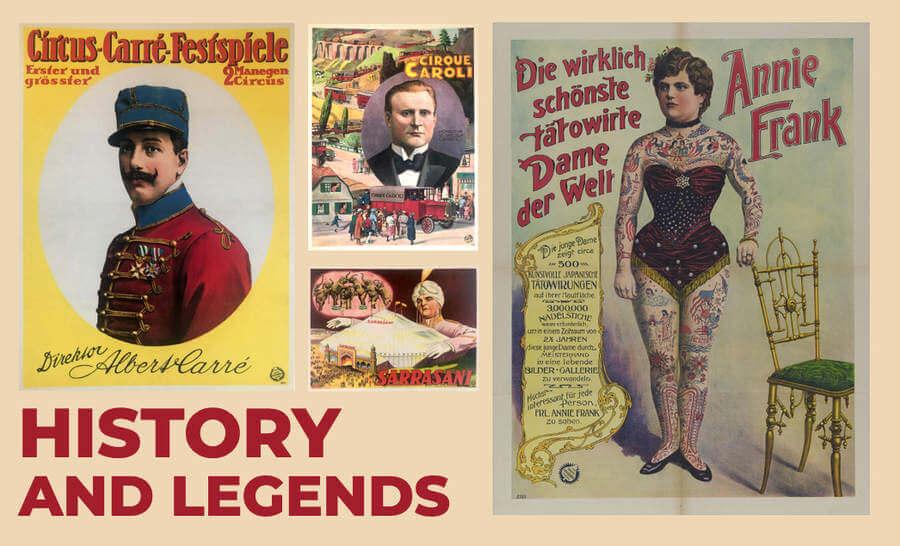 carteles de circo