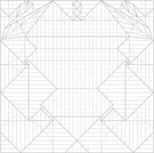moldes de origami para imprimir
