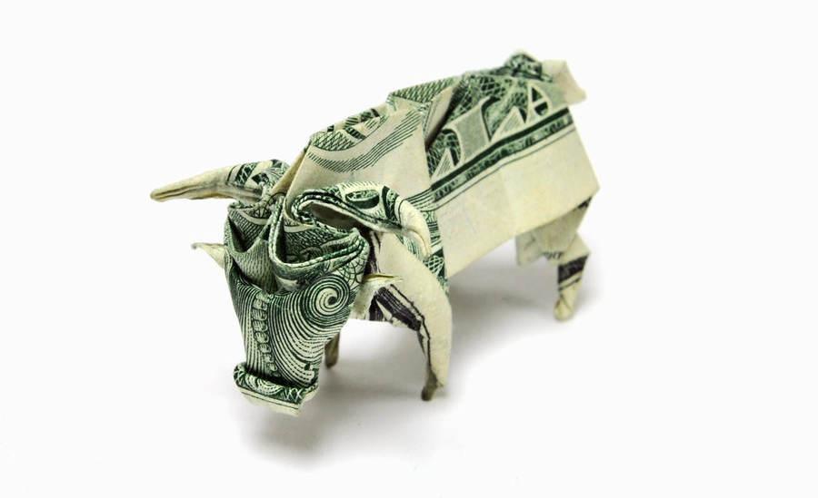 origami hechos con billetes