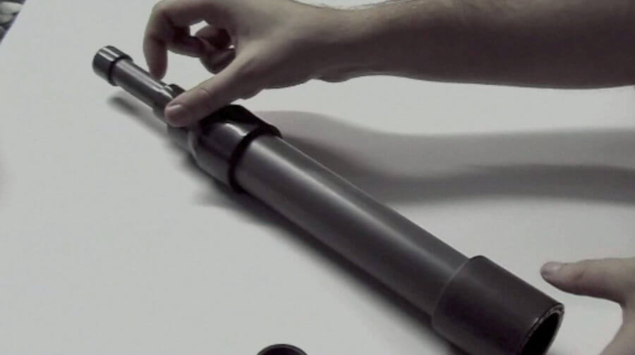 pasos para hacer un telescopio