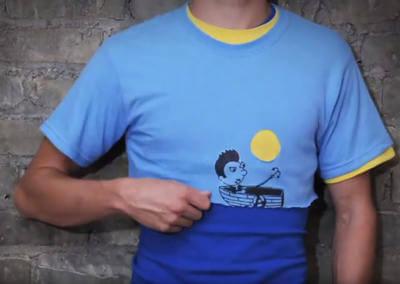 Animación en camisetas