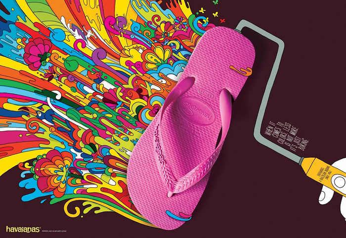 havaianas publicidad de sandalias