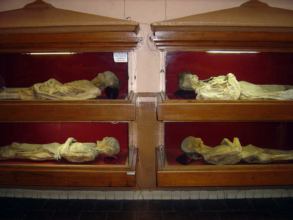momias Guanajuato antiguas