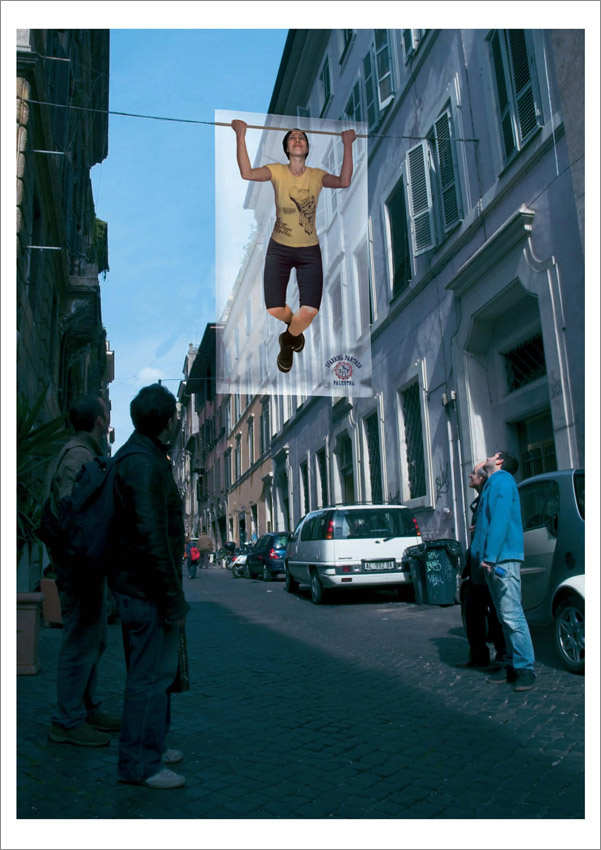 gimnasio en la calle