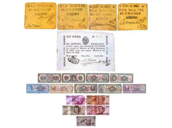 Historia de las monedas y billetes de México