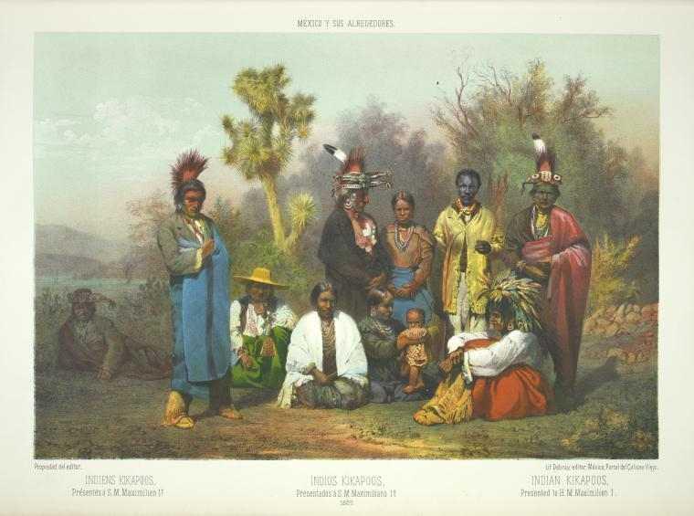 ilustraciones de México antiguo